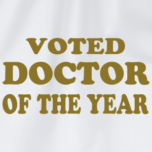Voted doctor of the year T-shirts - Gymnastikpåse