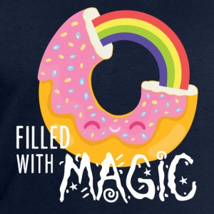 Marineblå Donut - filled with magic T-shirts - Herresweatshirt fra Stanley og Stella
