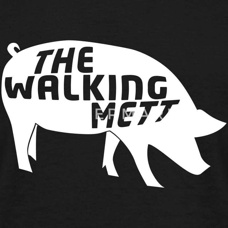 The walking Mett T-Shirts - Männer T-Shirt