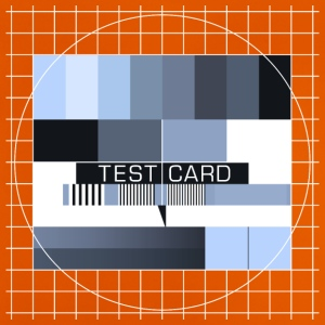 Fernseh-Testbild test card Vintage Retro TV-screen - Baby T-Shirt