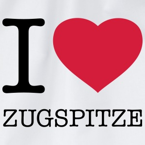 I LOVE ZUGSPITZE - Drawstring Bag