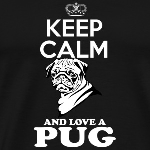 Pug dog Hoodies & Sweatshirts - Men's Premium T-Shirt