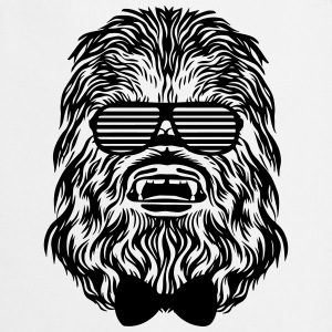 Chewbacca hipster - Cooking Apron