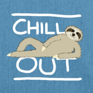 Sloth Chill Out Hoodies & Sweatshirts - Shoulder Bag made from recycled material