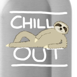 Sloth Chill Out T-Shirts - Water Bottle