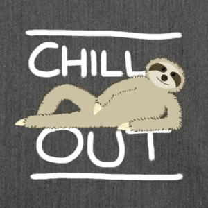Sloth Chill Out T-Shirts - Shoulder Bag made from recycled material
