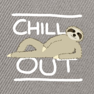 Sloth Chill Out T-Shirts - Snapback Cap
