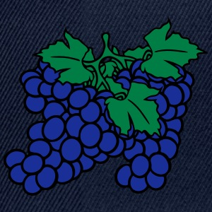 many grape grapes harvest tasty wine T-Shirts - Snapback Cap