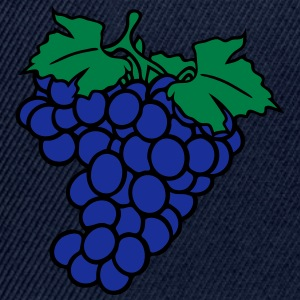 grapes grape harvesting tasty wine T-Shirts - Snapback Cap