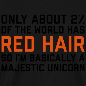 Red Hair Funny Quote Grembiuli - Maglietta Premium da uomo