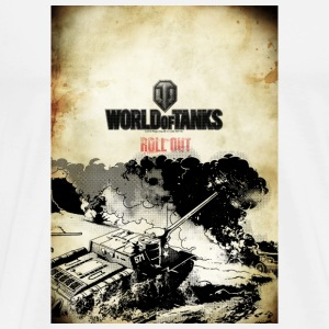 World of Tanks Roll out Coasters - Men's Premium T-Shirt