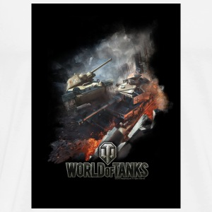World of Tanks Battlefield Dessous de verre - T-shirt Premium Homme