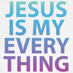 Jesus is my everything T-Shirts - Baseballkappe
