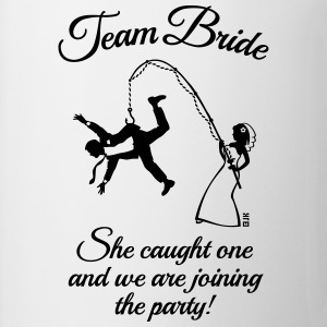 Team Bride Husband Fishing + Saying (Hen Party 1C) - Mug