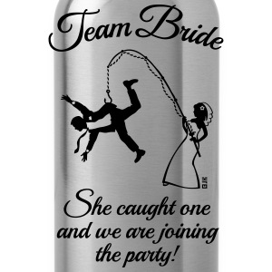 Team Bride Husband Fishing + Saying (Hen Party 1C) - Water Bottle