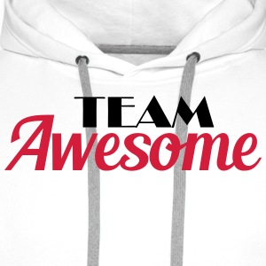 Team Awesome Tee shirts - Sweat-shirt à capuche Premium pour hommes
