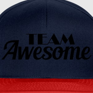 Team Awesome T-shirts - Snapback Cap