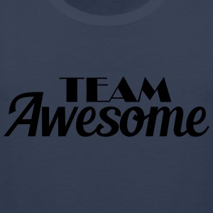 Team Awesome T-shirts - Herre Premium tanktop