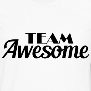 Team Awesome Tee shirts - T-shirt manches longues Premium Homme