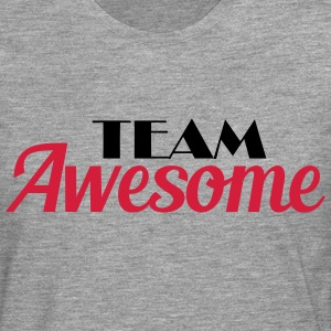 Team Awesome T-shirts - Långärmad premium-T-shirt herr