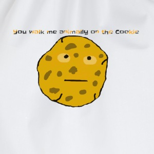 You walk me animally on the Cookie Langarmshirts - Turnbeutel