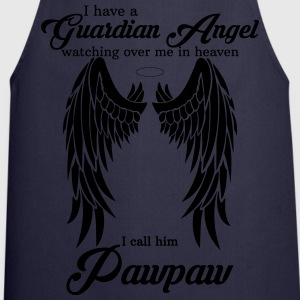 My Pawpaw Is My Guardian Angel she Watches Over M T-Shirts - Cooking Apron