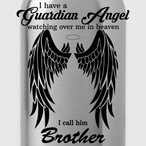 My Brother Is My Guardian Angel he Watches Over M Shirts - Water Bottle