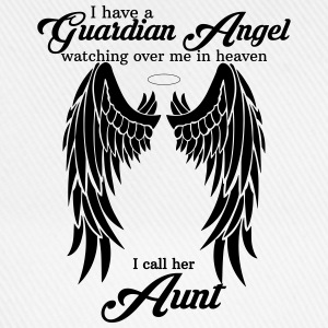 i have a guardian angel aunt T-Shirts - Baseball Cap
