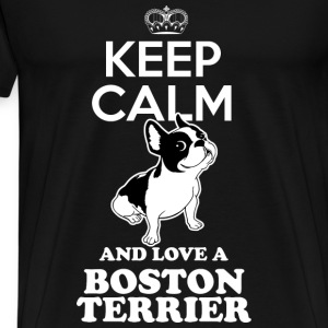 boston terrier dog Other - Men's Premium T-Shirt