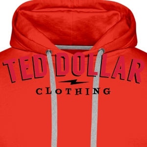 Ted Dollar Clothing Tee shirts - Sweat-shirt à capuche Premium pour hommes