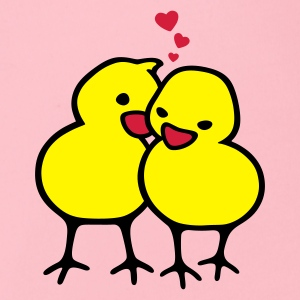 Chicks in Love - Body ecologico per neonato a manica corta