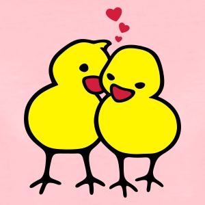 Chicks in Love - Premium-T-shirt dam