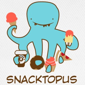 White Snacktopus T-Shirts - Baseball Cap