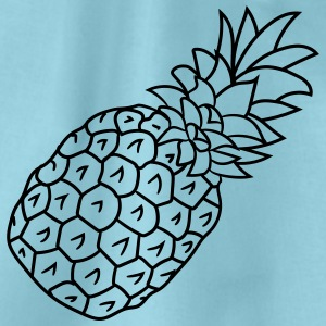 ananas vakantie Eat Well T-shirts - Gymtas