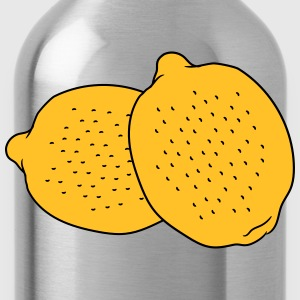 2 lemons tasty eat sour T-Shirts - Water Bottle