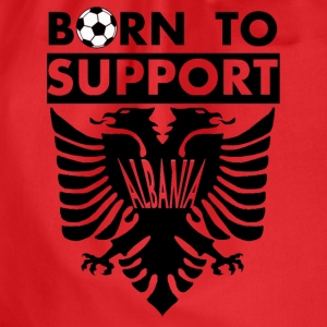 Support Albania  - Turnbeutel