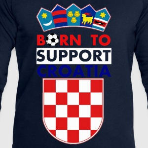 Support Croatia  - Men's Sweatshirt by Stanley & Stella