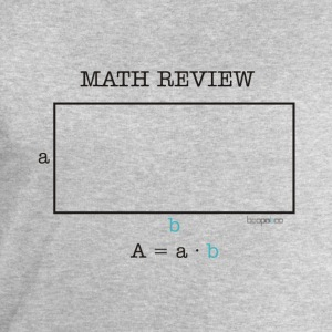 Math review-rectangle - Men's Sweatshirt by Stanley & Stella