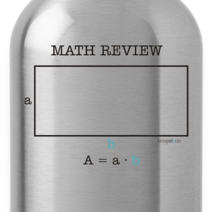 Math review-rectangle - Water Bottle