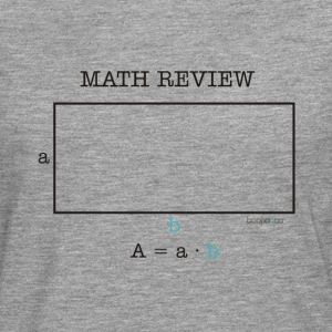 Math review-rectangle - Men's Premium Longsleeve Shirt