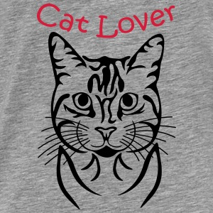 Cat-Lover Pullover & Hoodies - Männer Premium T-Shirt