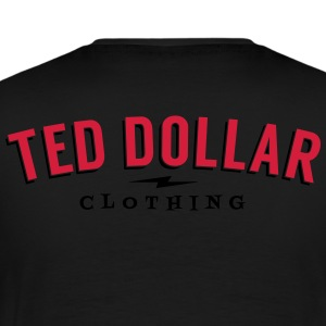 Teddy Ted Dollar Clothing velour - T-shirt Premium Homme