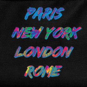 T-shirt Homme Paris-NYC-London-Rome - Sac à dos Enfant
