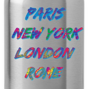 T-shirt Homme Paris-NYC-London-Rome - Gourde