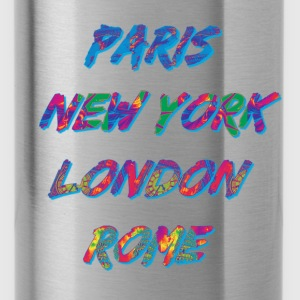 T-shirt Femme Paris-NYC-London-Rome - Gourde