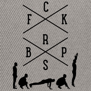 FCK BRPS (Fuck Burpees) Tee shirts - Casquette snapback