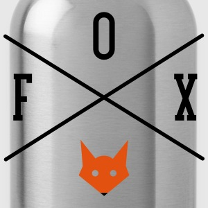 Fox Cross Logo T-Shirts - Water Bottle