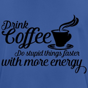 Drink coffee Bags & Backpacks - Men's Breathable T-Shirt