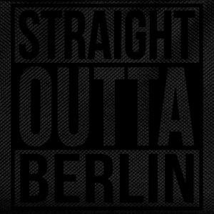 Straight Outta Berlin Hip Hop Rap Statement  Tops - Kinder Rucksack