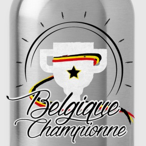 Rouge Belgique Championne 2016 Tee shirts - Gourde